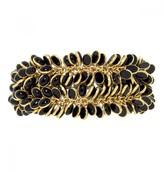 Mela Artisans Petals In Black/Gold Bracelet