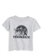 Kid Dangerous Infant Boy's Throwback Graphic T-Shirt