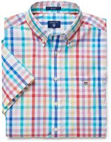 Gant Short-Sleeve Easy Care Broadcloth Shirt