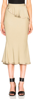 Givenchy Ruffle Skirt