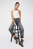 Womens PEGGED MOM JEAN