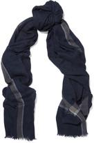 Agnona Printed cashmere scarf