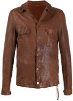Salvatore Santoro textured multi-pocket jacket