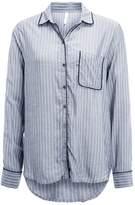 Gap PIPING Pyjama top grey stripe