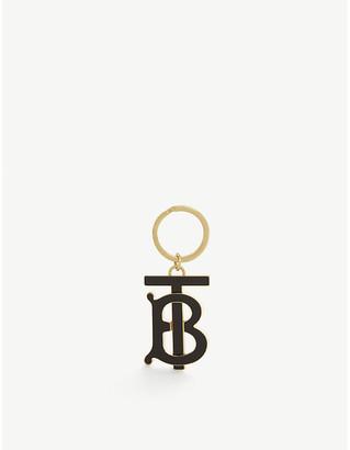Burberry TB logo keyring