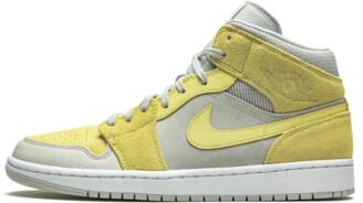 Jordan Air 1 Mid 'Grey Fog / Lemon Wash' Shoes - 8.5