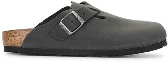 Birkenstock Boston buckled mules