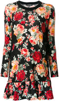 Twin-Set floral print dress - women - Polyamide/Polyester/Wool - XS