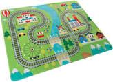 Trademark Baby Play Mat For Kids- Train Scene