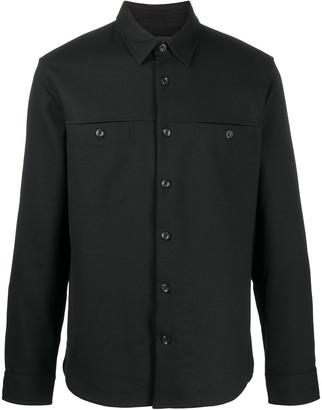 Vince Long Sleeve Buttoned Shirt