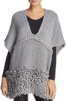 Rebecca Minkoff Chunky Knit Poncho