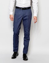 Selected Homme Slim Casual Lightweight Smart Trousers With Waistband