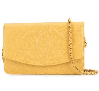 Chanel Pre-Owned 1998's chain shoulder wallet bag
