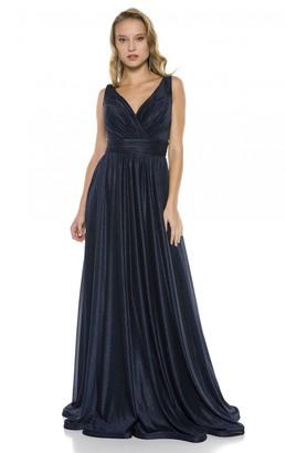 Ladyness Ladyness Navy Maxi Bridesmaid Dress