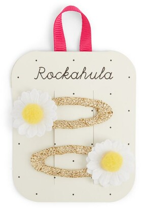 Rockahula Daisy Pom-Pom Hair Clips (Pack of 2)