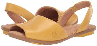 Børn Trang (Yellow Full Grain Leather) Women's Shoes