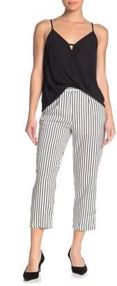 FAVLUX Striped Cigarette Pants