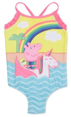 Peppa Pig Baby Toddler Girl One-Piece Swimsuit