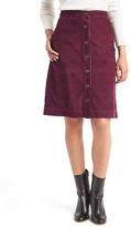 Gap Corduroy A-line skirt