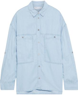 IRO Faelle Oversized Tencel-chambray Shirt