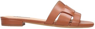 Bibi Lou Flats In Leather Color Leather
