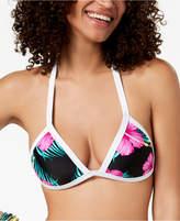 Body Glove Juniors' Molokai Printed Push-Up Triangle Bikini Top Women's Swimsuit