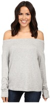 Splendid Super Soft Brushed French Terry Slouchy Boat Neck