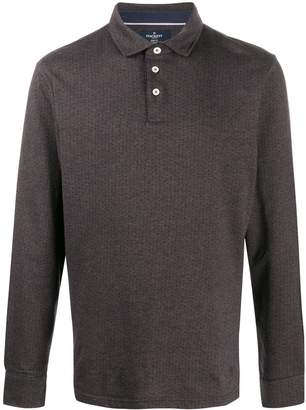 Hackett long sleeved polo shirt