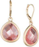 lonna & lilly Large Teardrop Stone Drop Earrings