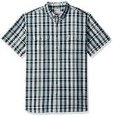 Carhartt Men's Big and Tall Fort Plaid Short Sleeve Shirt