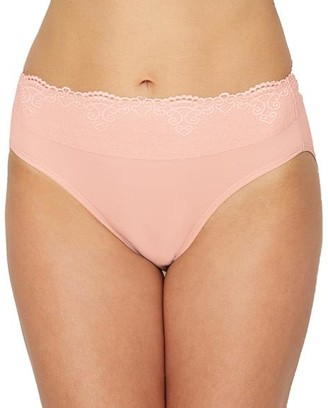 Bali Smooth Passion For Comfort Lace Hi Cut Brief