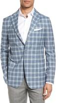 Men's Gi Capri Classic Fit Plaid Wool Sport Coat