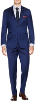 English Laundry Regular Fit Sharkskin Wool Suit