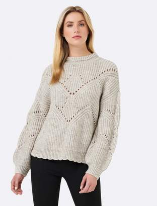 Ever New Giselle Pointelle Stitch Sweater