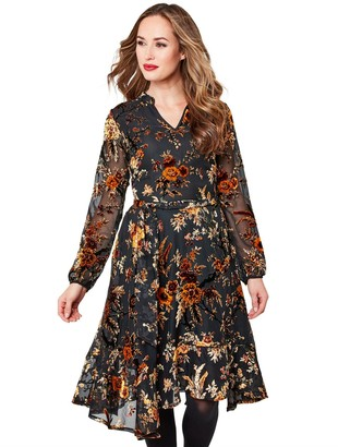 Joe Browns Elegant Devore Dress