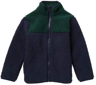 Joe Fresh Faux Fur Colorblock Jacket (Big Boys)