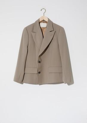 Adnym Atelier Slash Double Breasted Jacket