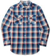 Ralph Lauren Boys 2-7 Plaid Cotton Twill Workshirt