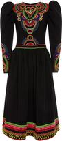 Manish Arora Hand Embroidered Long Dress