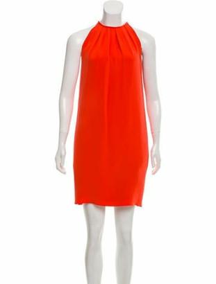 Celine Silk Mini Dress Silk Mini Dress