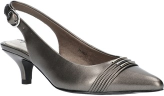 Easy Street Shoes Adjustable Slingback Pumps - Maeve