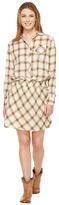 Stetson 0900 Lite Weight Plaid Western Blouse Dress Women's Dress