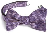 Eton Men's Geometric Silk Bow Tie