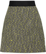 Milly Cotton-Blend Tweed Mini Skirt
