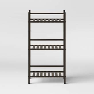 Threshold Square Tube 3 Tier Decorative Storage Cabinets Bronze - ThresholdTM