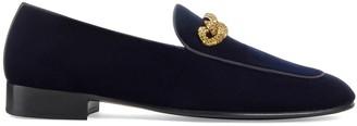 Giuseppe Zanotti Rudolph chain loafers