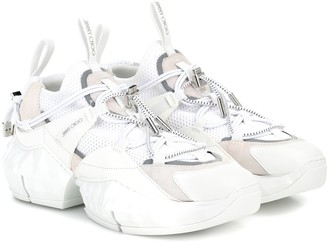 Jimmy Choo Diamond Trail/F mesh sneakers