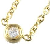 Christian Dior 18K Yellow Gold & 0.04ct Diamond Mimioui Necklace