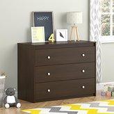 Altra Elements Resort Cherry 3 Drawer Dresser by Cosco