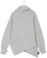 Nununu asymmetric hoodie